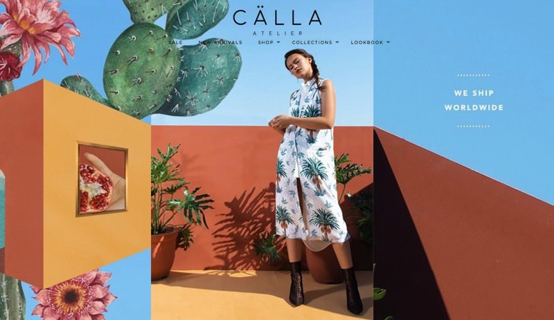 82Cart E-commerce Client - Calla Atelier High Fashion Online Store Website