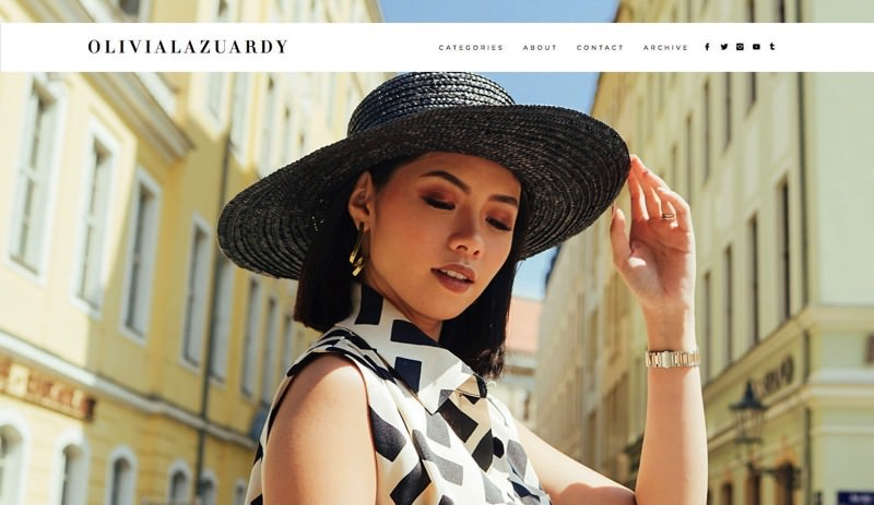 82Cart E-commerce Client - Olivia Lazuardy High Fashion Blog Website